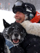 Hilde Akildt - hundekjører og sponset av oss (mars 2015)
