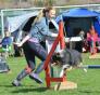 Vibecke Stenseth og hendes hund Flinth